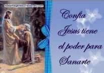 Imágenes Cristianas: Jesús puede sanarte