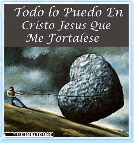 imagenes cristianas jesus me fortalece
