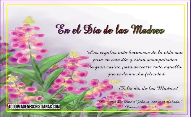 imagenes del dia de la madre cristianas