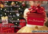 Imágenes Cristianas de Navidad: Un regalo que Jesús te quiere dar