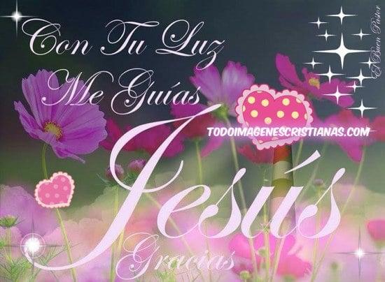 imágenes cristianas Jesús guia mi camino