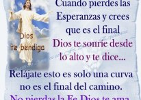 Imágenes cristianas con frases de ánimo para cuando pierdes las esperanzas