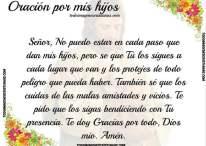 Imágenes con oraciones por los hijos