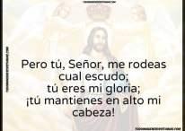 Señor, tú eres mi gloria, tú mantienes en alto mi cabeza