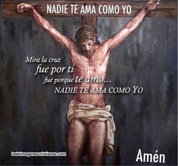 nadie te ama como jesus