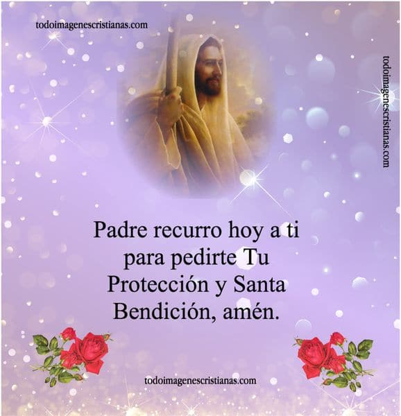 tarjetas cristianas proteccion bendicion