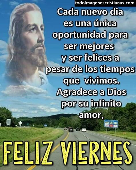 Imágenes cristianas de Feliz Viernes