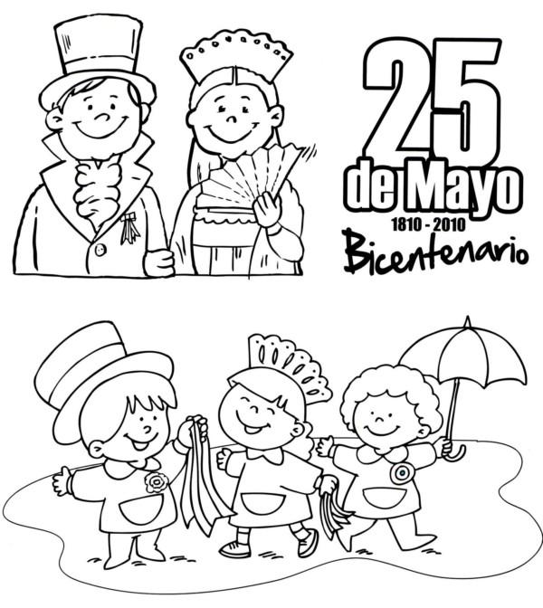 """Imágenes del 25 de Mayo de 1810: """"El pueblo quiere saber"""