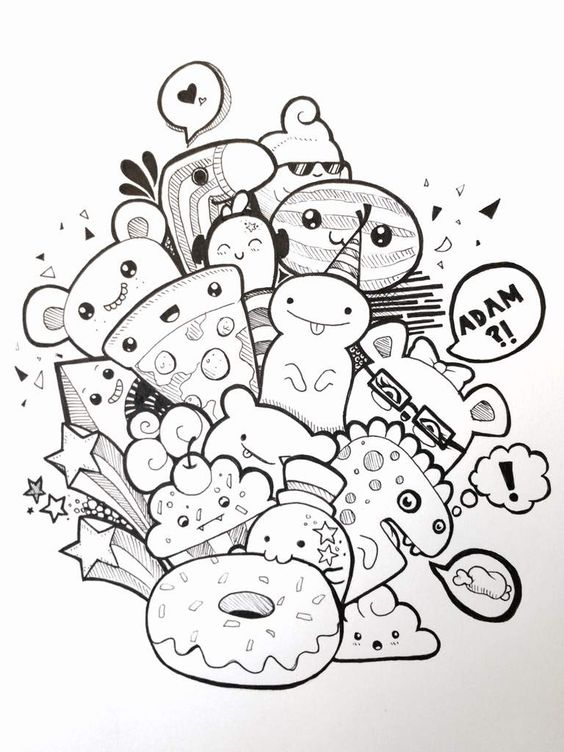 Imagenes De Dibujos Kawaiis Para Dibujar