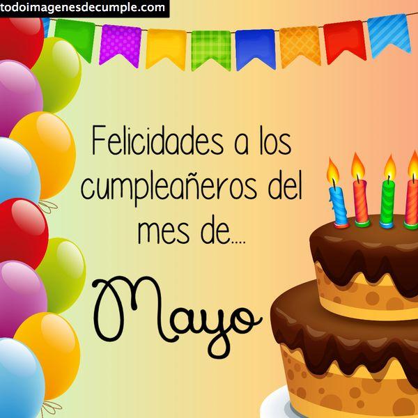 Mayo cumpleaños