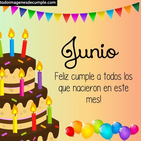 cumpleaños junio