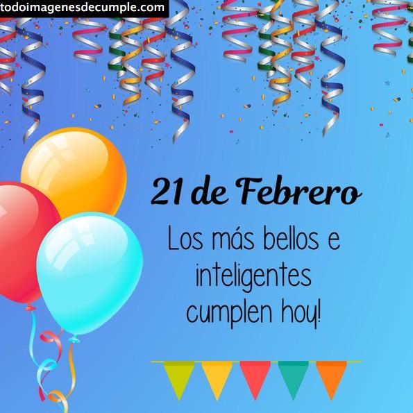 imágenes cumpleaños día mes febrero