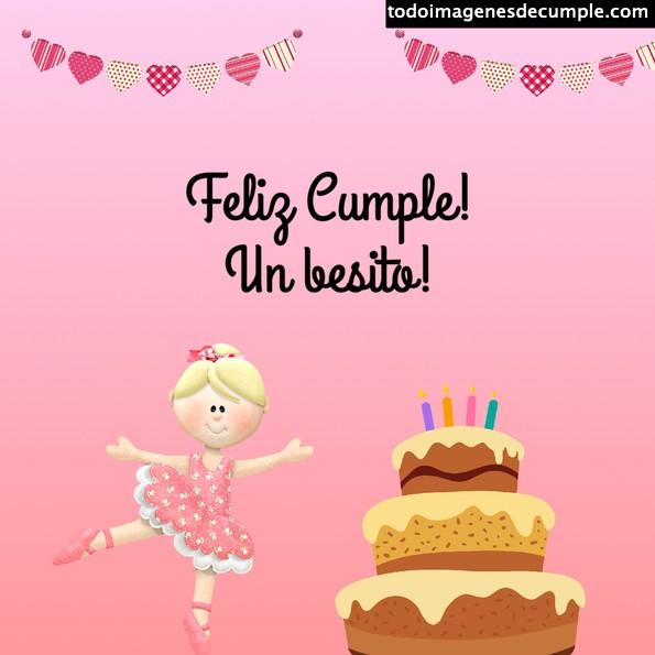 imágenes cumpleaños ballet
