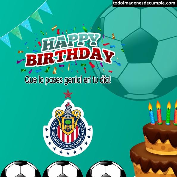 imágenes cumpleaños fútbol
