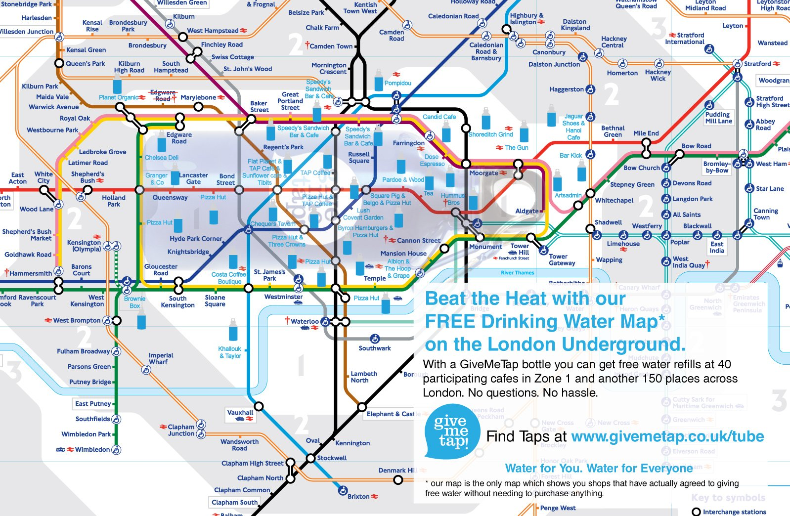 London Free Map.To Do List Free London Water Map