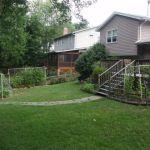 back yard before gardens