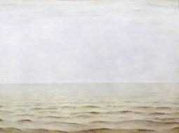 The gray sea / 1966 / oil