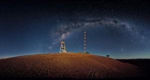 Cerro Armazones, cerca de ESO's Paranal Observatory. Fuente: Chileestuyo