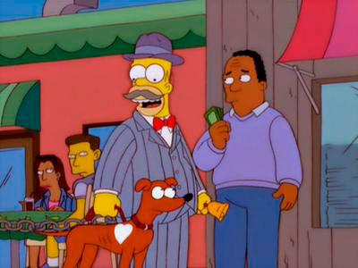 """Homero el estafador"" ¡Que no te pase a tí! (foto: anonopspublico.blogspot)"