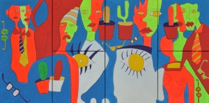 Obra expuesta en la exposición