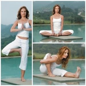 María José Prieto y yoga