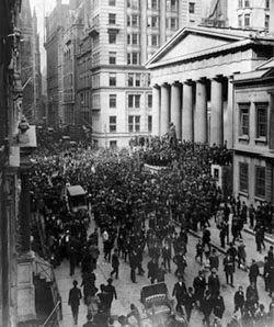 Wall Street. 1929