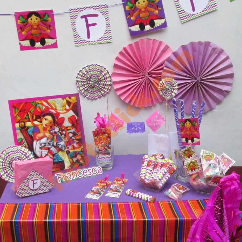Fiesta de Mueca Mexicana o Mazahua  Todo para la Fiesta
