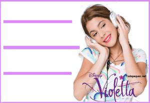 Etiquetas Violetta v