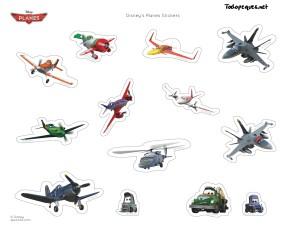 Stickers aviones