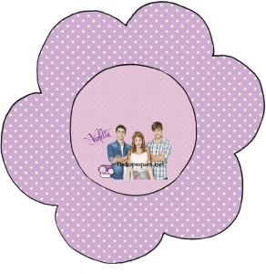 topper cupcake flor