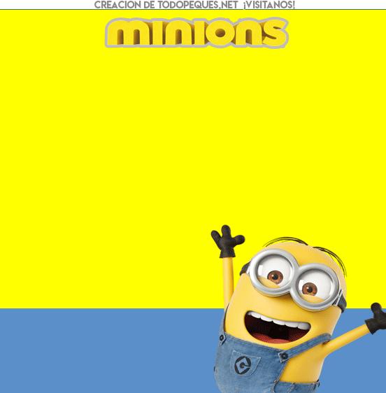 Kits Imprimibles Minions descarga gratis