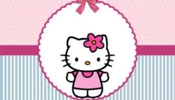 Etiquetas tarjetitas de Hello Kitty  Todo Peques