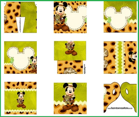 Kit de mickey safari