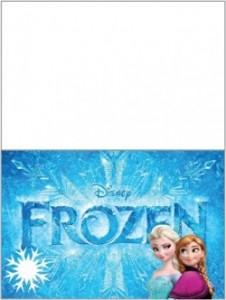 Tarjetitas frozen 2