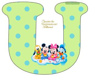 Disney Babies Letters