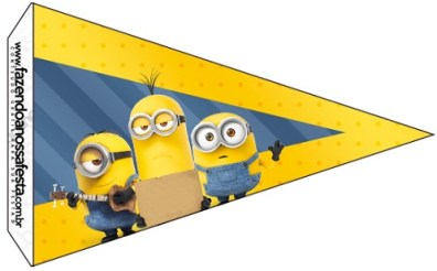 Minions candy bar gratis