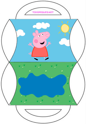Peppa Pig cajitas para imprimir Party box peppa pig printables