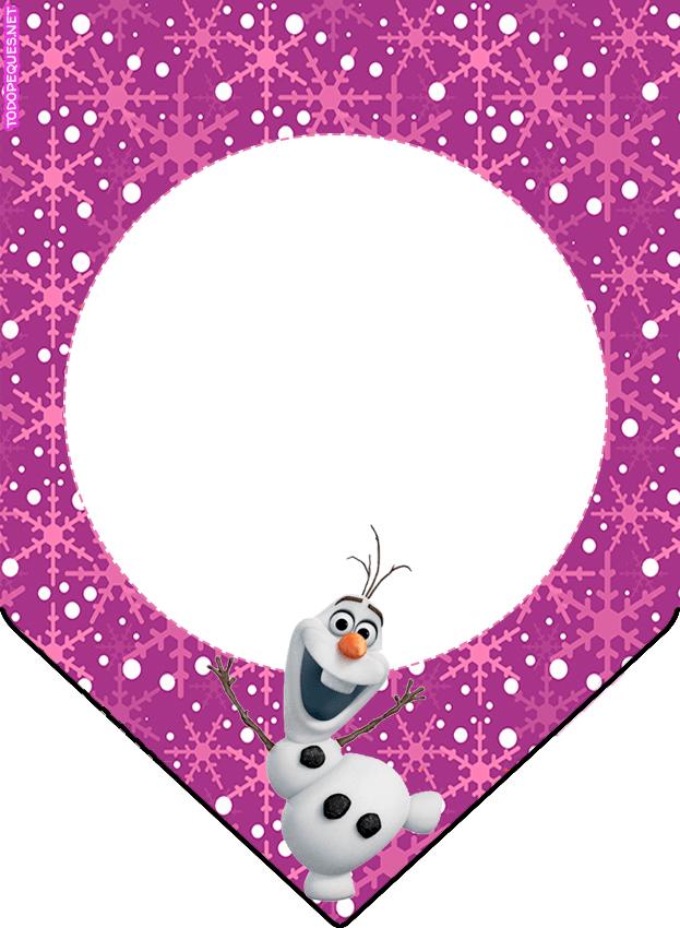 Banderines Frozen Olar Violeta