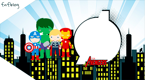 Avengers cute printables free download