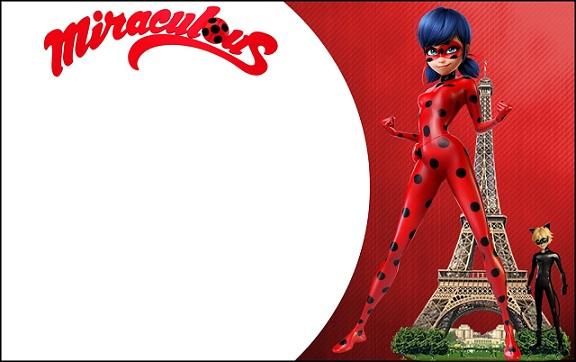 Invitaciones Ladybug tarjetas