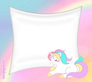 Kit Imprimible de Unicornios para descargar y personalizar