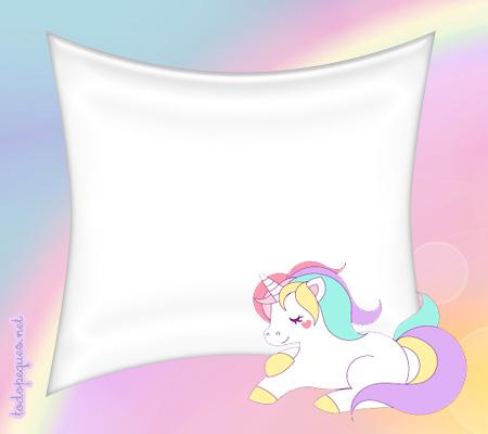 Kit Imprimible de Unicornios para descargar y personalizar gratis ...