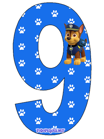 Chase Paw patrol Imprimibles