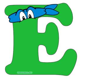 tortugas ninjas abecedario