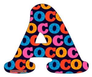 letters coco disney