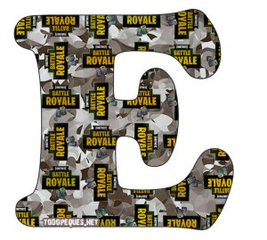 LETRAS FORTNITE LETTERS