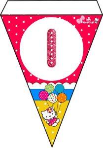 Birthday party Hello Kitty