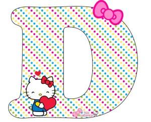 hello kitty abecedario