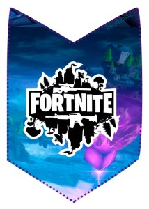 Candy bar Fortnite para imprirmir