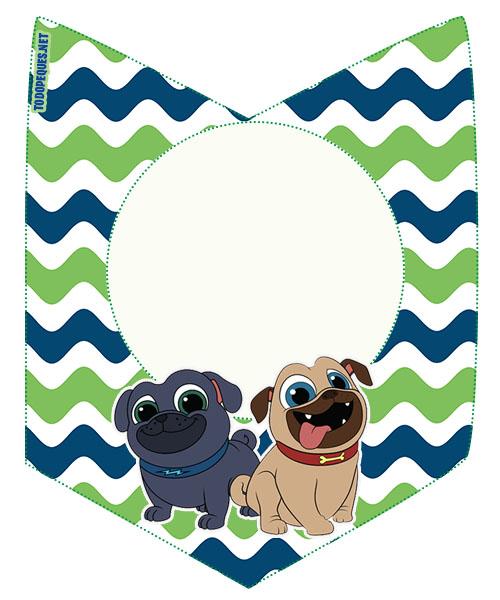 BANDERINES puppy dog pals - candy bar gratis puppy dog pals - kits imprimibles puppy dog pals descarga gratis